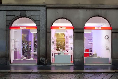 Nuovo flagship store alessi milano casastile for Alessi casa