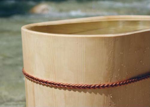 Le vasche in legno di mori fine style japan casastile - Vasche da bagno in legno prezzi ...