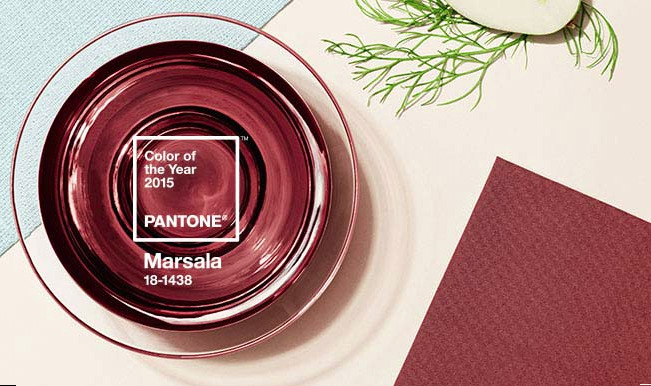 color 2015 pantone - marsala