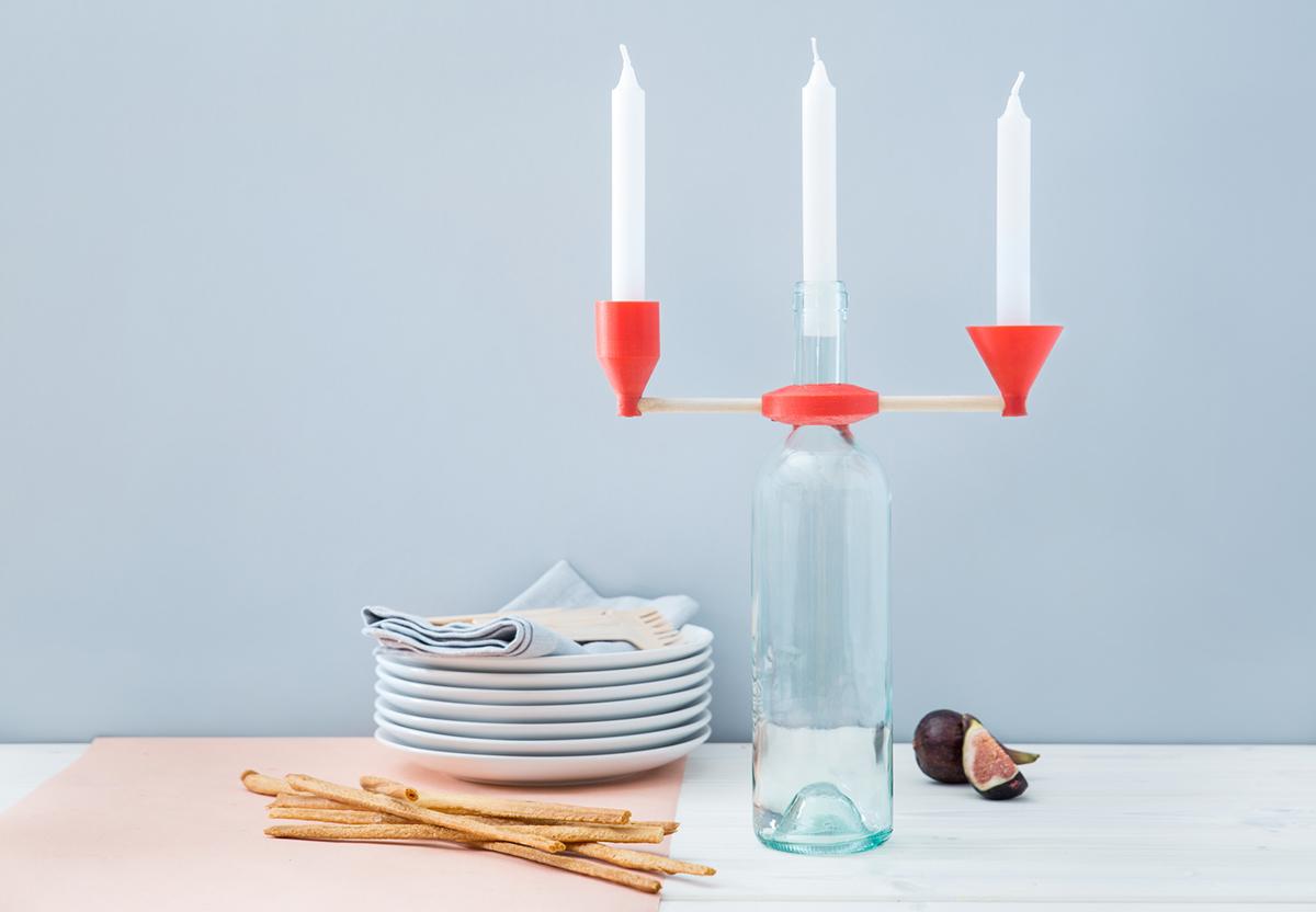 design tourdefork candelabra casastile oggetti