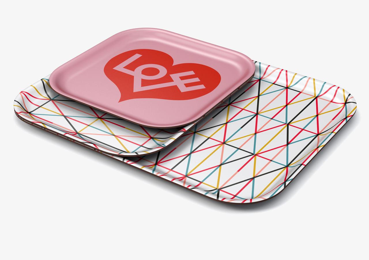 collezione vitra Home Complements vassoio love design complementi