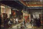 Prosper Lafaye, Queen Victoria, Prince Albert and Three of Their Children at the Great Exhibition, 1851-1881