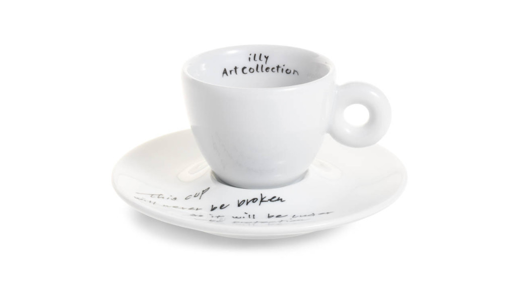 illy caffè, illy Art Collection 2015 - Yoko Ono - Unbroken Cup