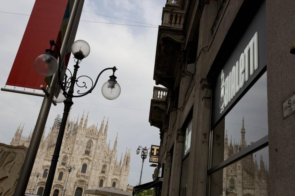 Bialetti Store Duomo, Milano 2015