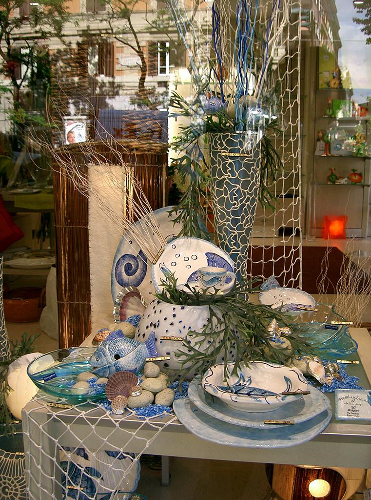 Vetrine & retail: vetrina estiva mare