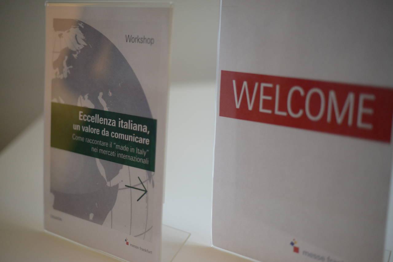 Comunicare il Made in Italy Messe Frankfurt Italia convegno casastile