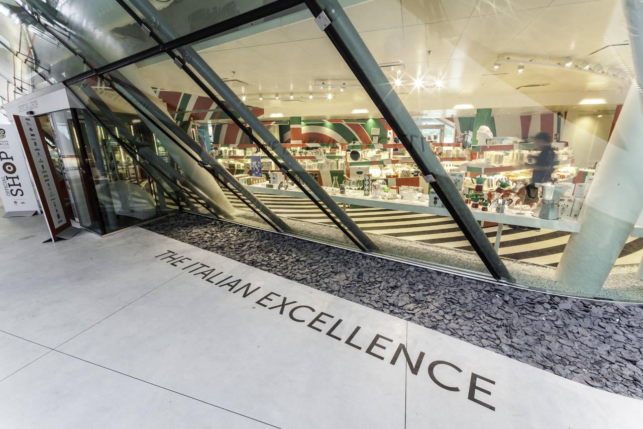 Shop Padiglione Italia Expo Milano 2015 - eccellenza italiana