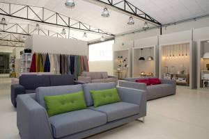QL Store_Design Loft_tessuti_esposizione Illuminazione