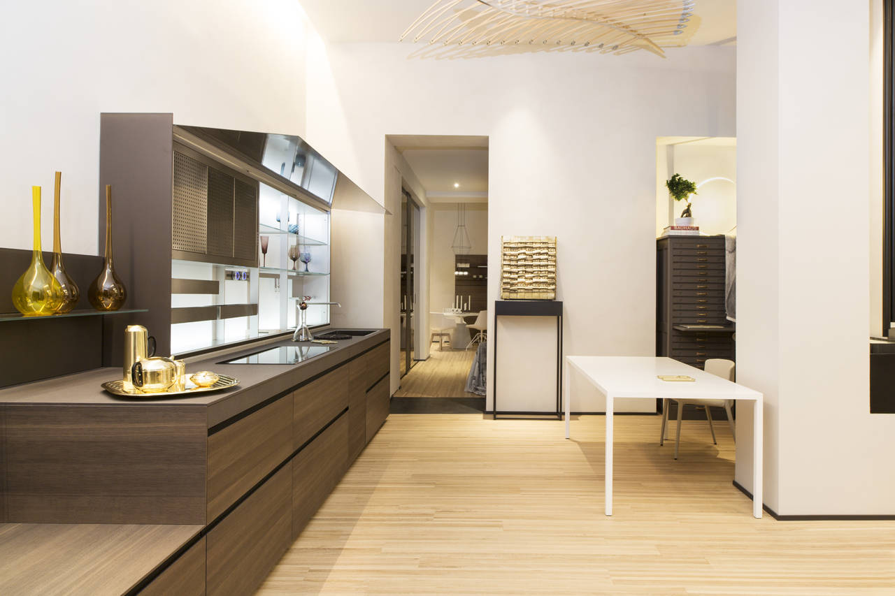 Showroom Spazio Materiae a Napoli. Food & design con un percorso esperienziale.