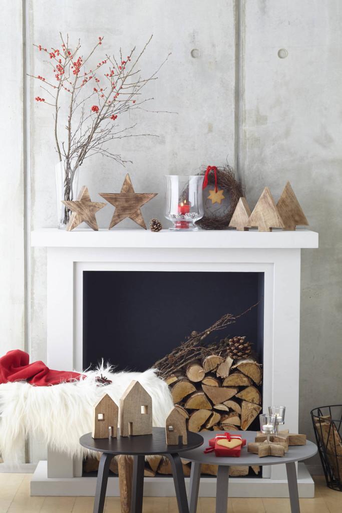 decorazioni natalizie in legno di mango leonardo