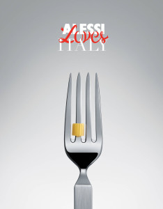 Alessi Loves Italy - forchetta mid