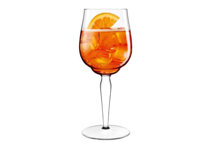 Il calice aperol spritz firmato luca trazzi casastile for Bicchiere da spritz