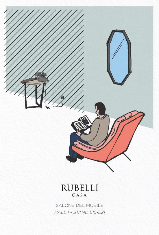 Rubelli è lieta di annunciare che oltre alle presentazioni prodotto Rubelli  Casa e del marchio Donghia fd601faf5c0