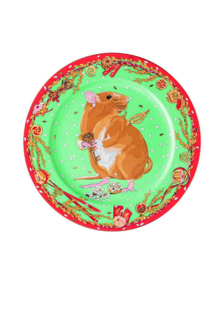 Rosenthal _Zodiac_2020_Year_of_the_Rat_Service_plate_30_cm